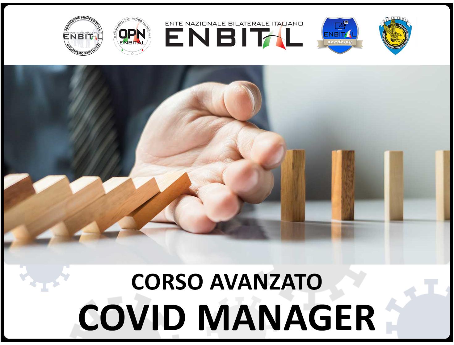 CORSO AVANZATO COVID MANAGER